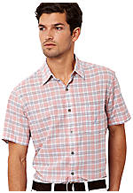 Nautica Poplin Mixed Plaid Shirt