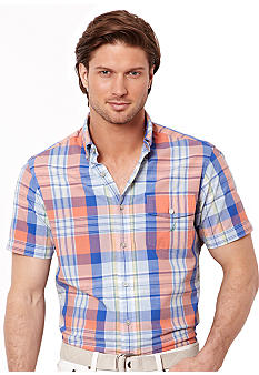 Nautica Large Plaid Shirt