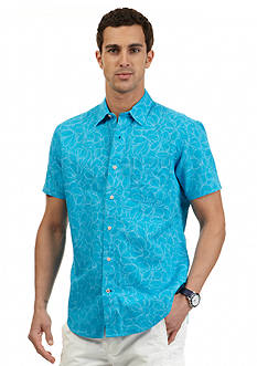 Nautica Short Sleeve Floral Shirt
