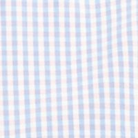 Men: Nautica Casual Shirts: Conch Shell Pink Nautica Long Sleeve Poplin Gingham Button Down Shirt