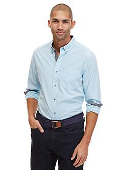 Nautica Long Sleeve Mini Gingham Shirt
