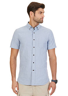 Nautica Slim-Fit Striped Short Sleeve Shirt