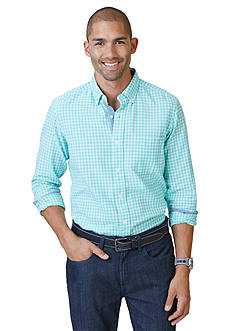 Nautica Gingham Oxford Shirt