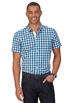 Nautica Star Check Short Sleeve Shirt