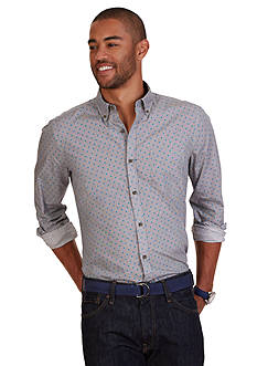 Nautica Slim Fit Geo Print Shirt