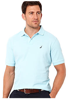 Nautica Big & Tall Performance Deck Knit Polo