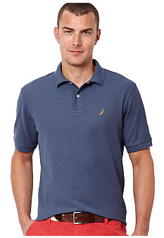 Nautica Big & Tall Solid Deck Shirt