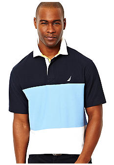 Nautica Big & Tall Pieced Polo
