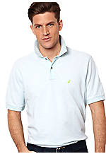 Nautica Big & Tall Fine Stripe Polo