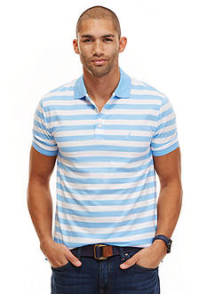 Nautica Big & Tall Striped Polo Shirt