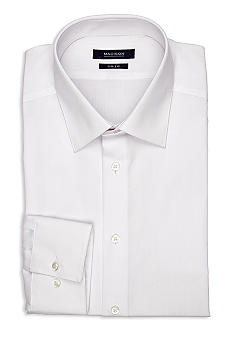 Madison Slim Fit Solid Dress Shirt