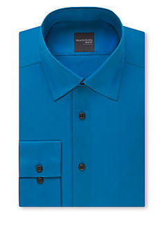 Madison Slim-Fit Stretch Poplin Dress Shirt