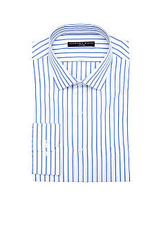 Geoffrey Beene Wrinkle Free Stripe Dress Shirt