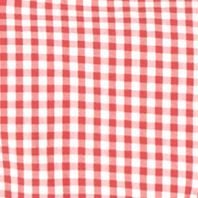 Lacoste™ men: Goji Red/White Lacoste Classic Gingham Long Sleeve Button Down Shirt