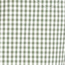 Lacoste Men Sale: Myrtle Green/White Lacoste Classic Gingham Long Sleeve Button Down Shirt