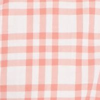 Lacoste™ men: White/Veil Pink Lacoste Long Sleeve Small Check Woven Shirt