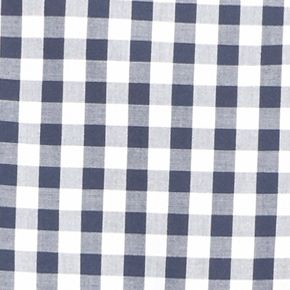 Lacoste™ men: Navy Blue/White Lacoste Long Sleeve Gingham Check Button Down Shirt