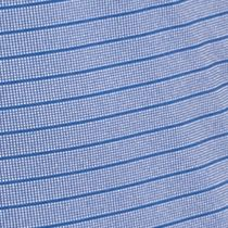 Men: Short Sleeves Sale: Monaco Blue Lacoste Ultra-Dry Stripe Golf Shirt