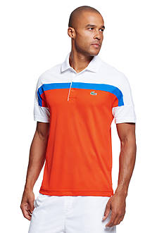 Lacoste Short Sleeve Ultra Dry Colorblocked Polo Shirt