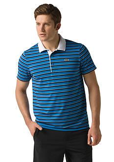 Lacoste Ultra Dry Short Sleeve Multi-Stripe Polo