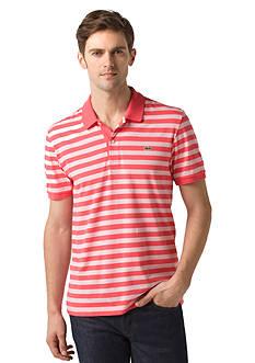 Lacoste Short Sleeve Jersey Stripe Polo