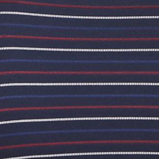 Men: Lacoste Designer: Blue Lacoste Sport Golf Short Sleeve Ultradry Fine Stripe Polo Shirt