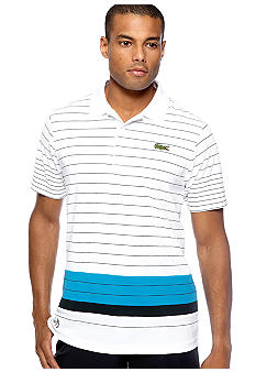 Lacoste Andy Roddick Engineer Stripe Super Dry Polo