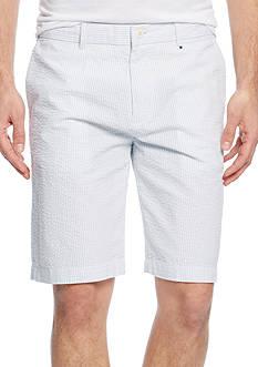 Lacoste Seersucker Stripe Bermuda Shorts
