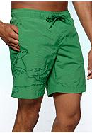 Lacoste™ Tonal Solid Swim Trunks