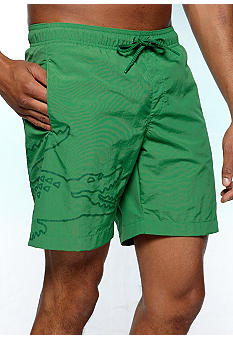 Lacoste Tonal Solid Swim Trunks