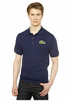 Lacoste Big & Tall Oversized Croc Pique Polo