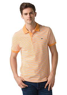 Lacoste Short Sleeve Heritage Fine Stripe Pique Polo