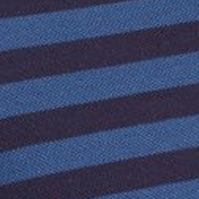 Mens Designer Polo Shirts: Navy Blue/ Philippines Lacoste Cotton Pique Bar Stripe Polo