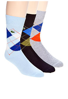 Lacoste Argyle Socks - Single Pair