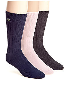 Lacoste Classic Crew Socks - Single Pair
