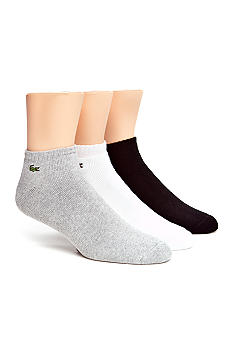Lacoste 3-Pack Logo Ankle Socks