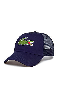Lacoste Large Croc Trucker Hat