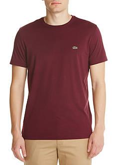 Lacoste Short Sleeve Pima Jersey Crew Neck T-Shirt