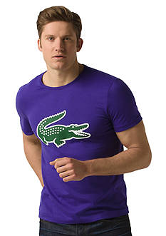 Lacoste Short Sleeve Jersey Silicone Croc Tee