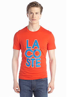 Lacoste Short Sleeve Jersey Lacoste Graphic Tee