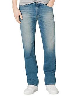 Calvin Klein Jeans Silver Bullet Straight Leg Jeans