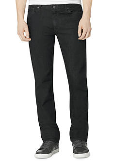 Calvin Klein Jeans Slim Straight Tinted Rinse Denim Jeans