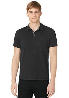 Calvin Klein Jeans Slub Jersey Polo