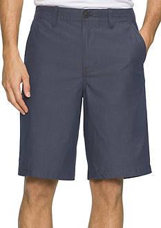 Calvin Klein Jeans Herringbone Flat Front Shorts