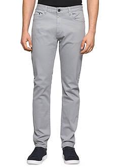Calvin Klein Jeans Taper Sateen Pants