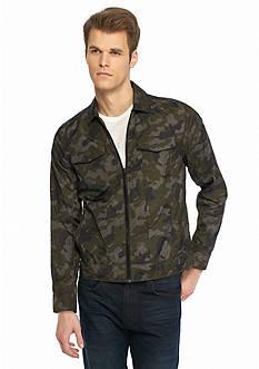 Calvin Klein Jeans Zip Front Trucker Jacket