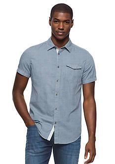 Calvin Klein Jeans Short Sleeve Dot Print Woven Shirt