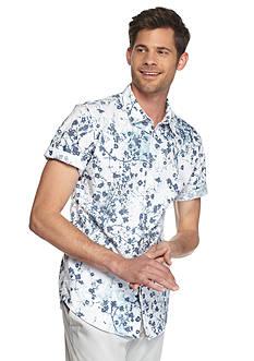 Calvin Klein Jeans Short Sleeve Botanical Print Shirt