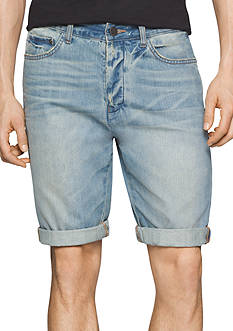 Calvin Klein Jeans Tinted Wave Denim Shorts