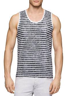 Calvin Klein Jeans Washed Stripe Tank